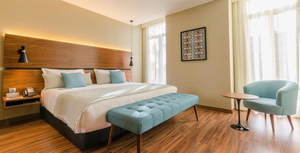 Descansa en tu confortable y moderna habitación Superior