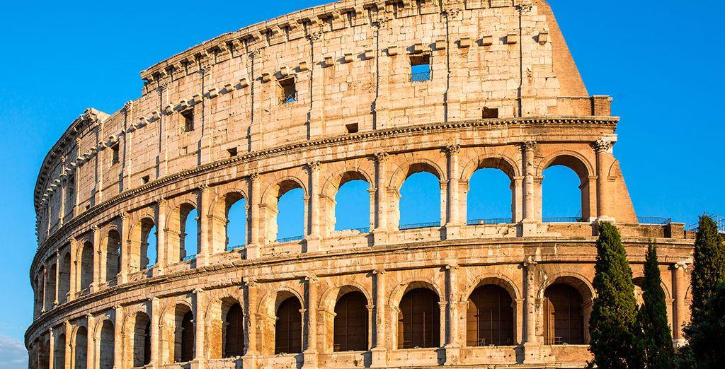 El Coliseo... Visita obligada en Roma