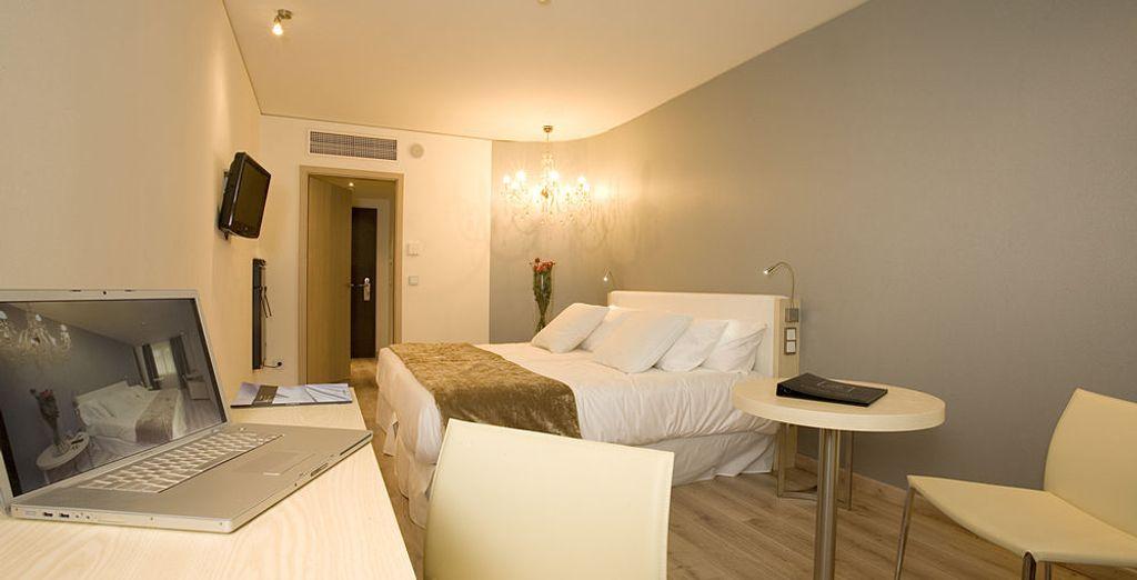 Tu habitación en Abba Berlin Hotel 4*