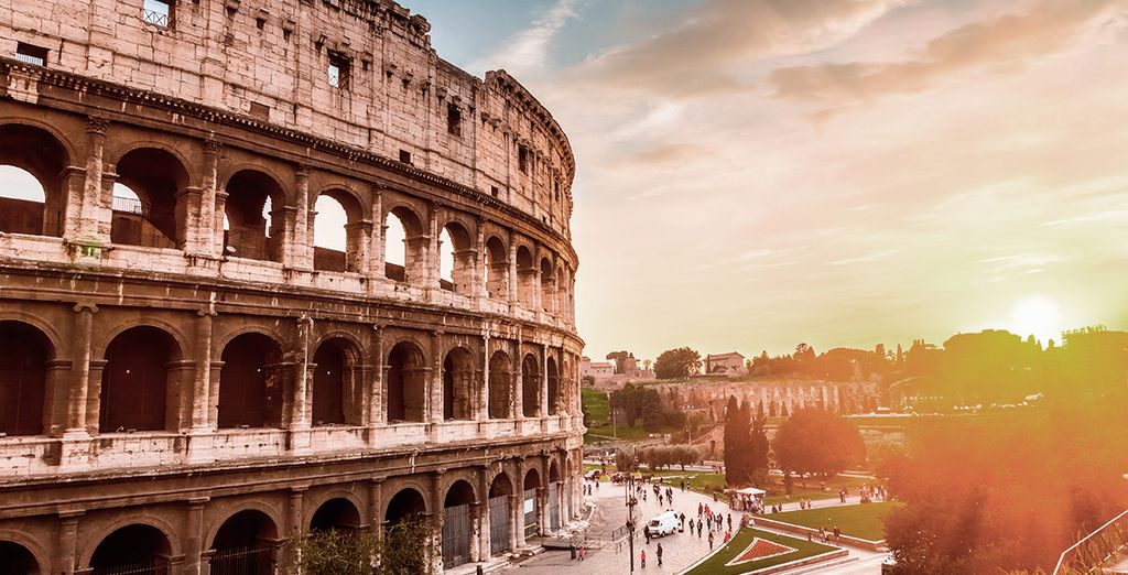Visita los vestigios de la Antigua Roma