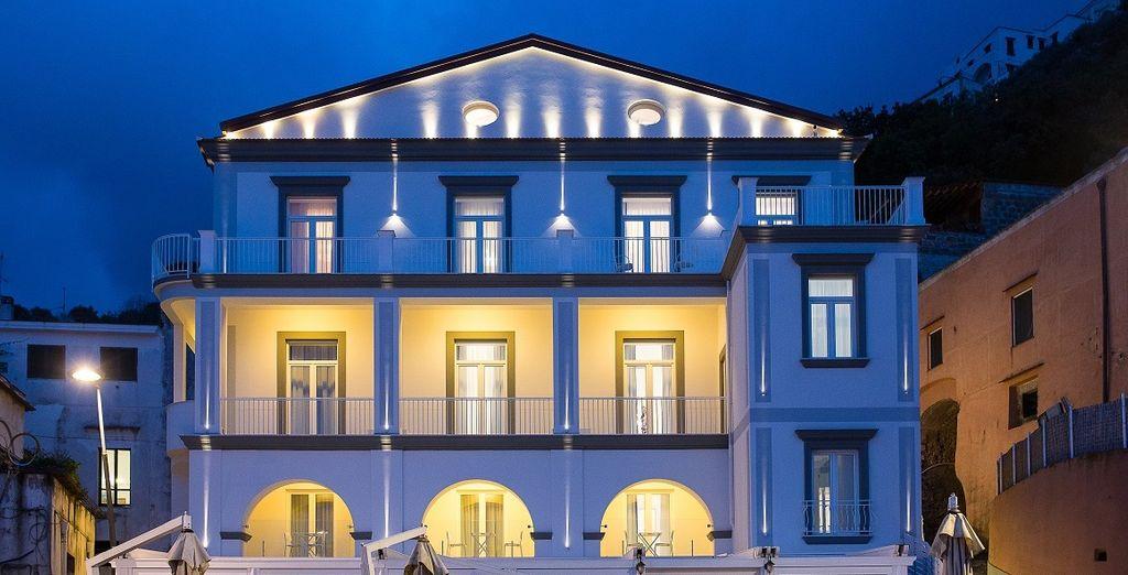 Un renovado palacio del siglo XIX