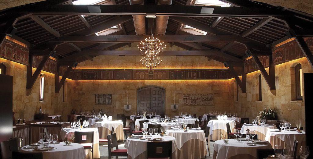 Cocina moderna elaborada con productos típicos de Asturias...