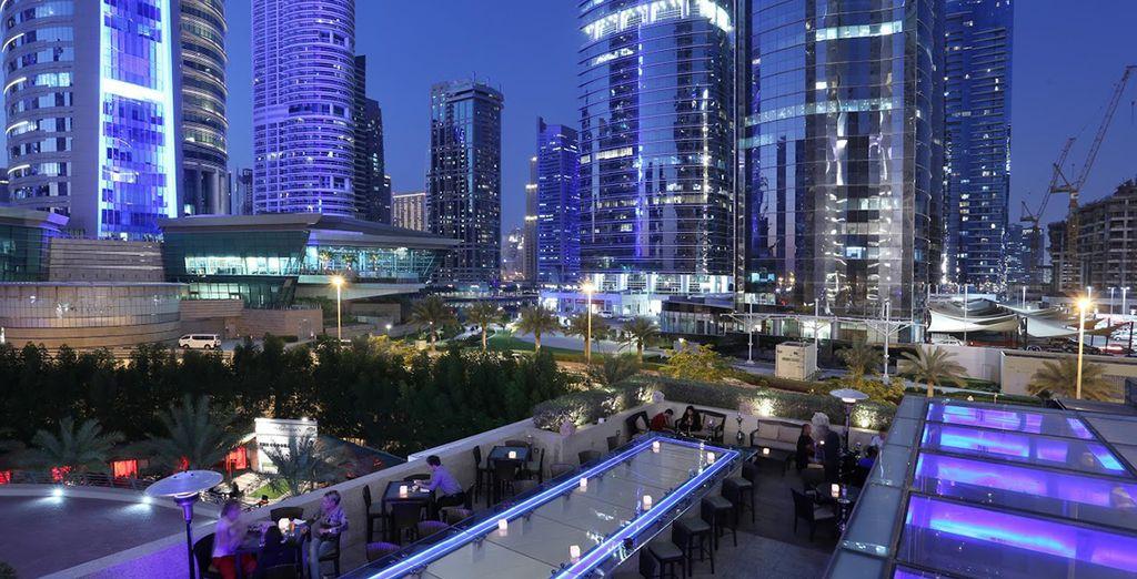 Un hotel exclusivo en el centro de Dubái