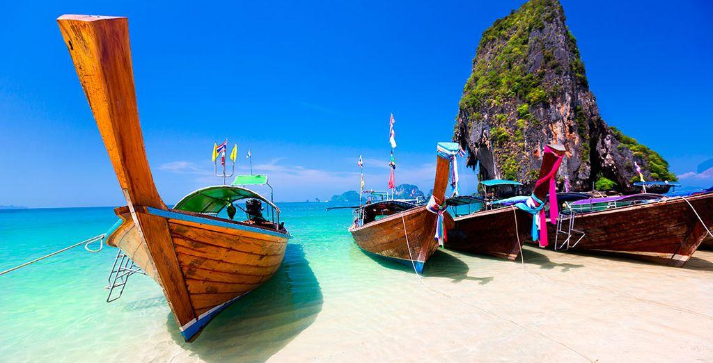 Opcionalmente, ¡te brindamos la oportunidad de extender tu estancia en Krabi!