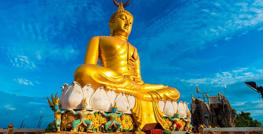 Visita el Gran Buda de oro