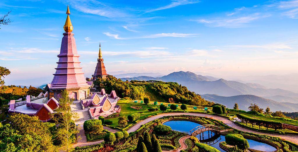 Tu siguiente parada será Chiang Mai, conocida como