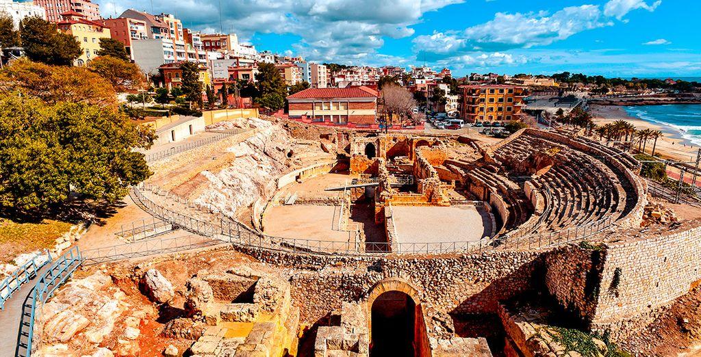 Acércate a Tarragona y descubre las ruinas romanas