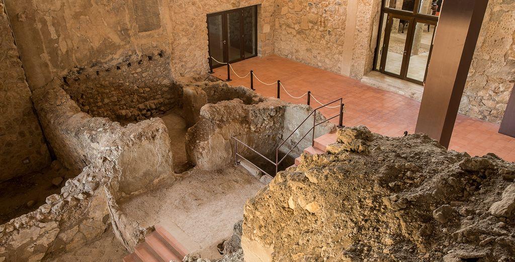 Descubre las ruinas del antiguo palacio