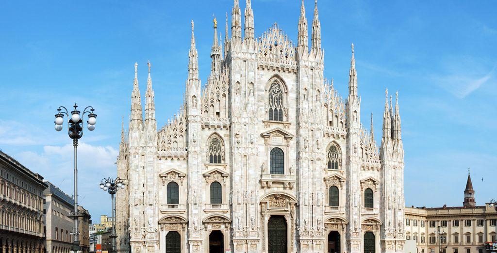 Inspírate a los pies del Duomo