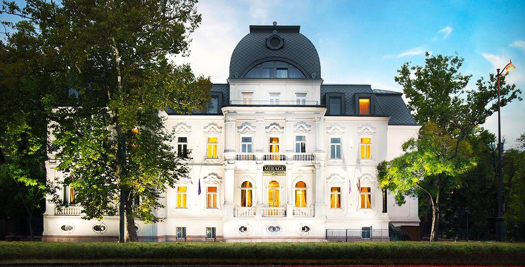 El recientemente renovado Mirage Medic Hotel 4* es uno de los hoteles más exclusivos de Budapest