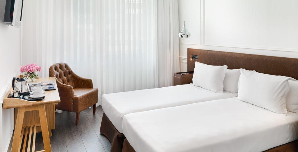 Hemos seleccionado para ti una cómoda habitación Deluxe