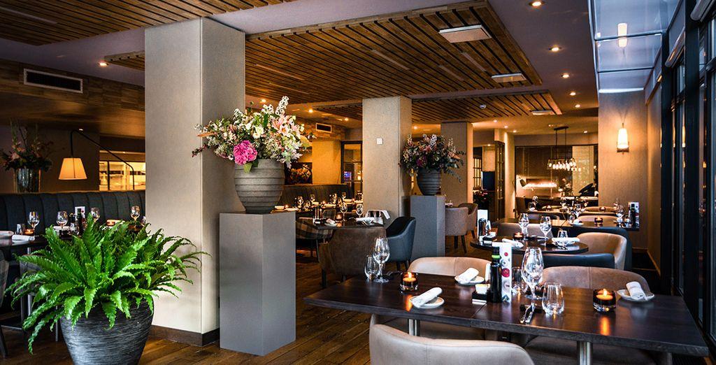 Restaurante De Kersentuin, conducido por el Chef ganador de 2 estrellas Michelin, Stefan van Sprang