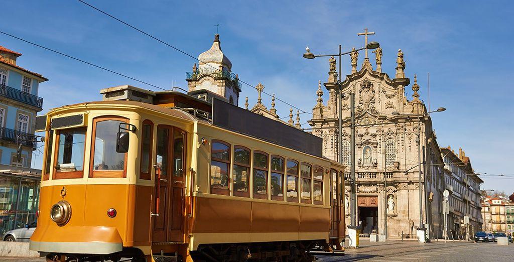La alegría llena cada lugar, cada rincón de la ciudad portuguesa