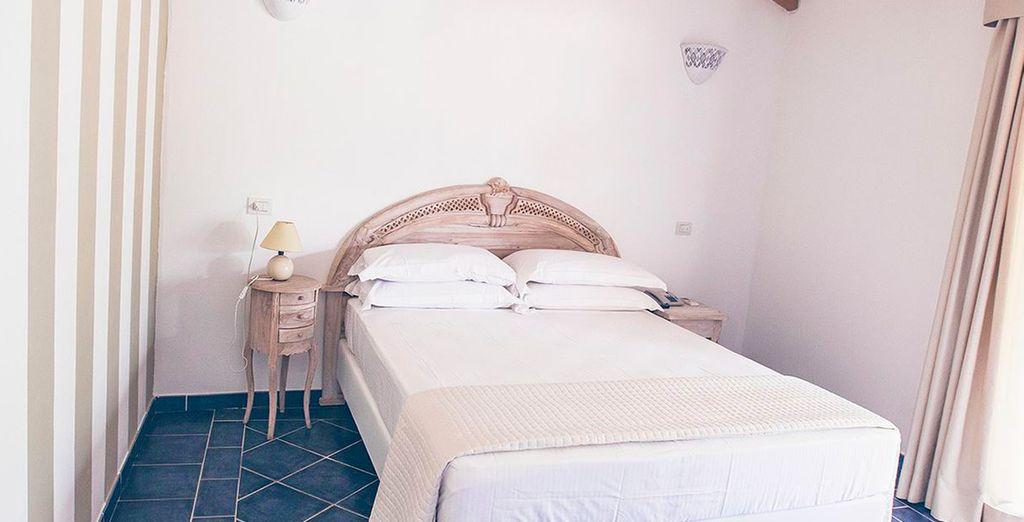 Habitaciones equipadas con todo lo necesario para que tu estancia sea perfecta