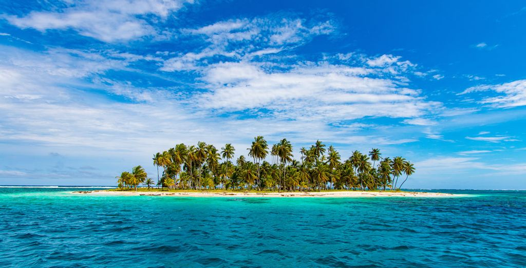 Puedes hacer una excursión al archipiélago de San Blas