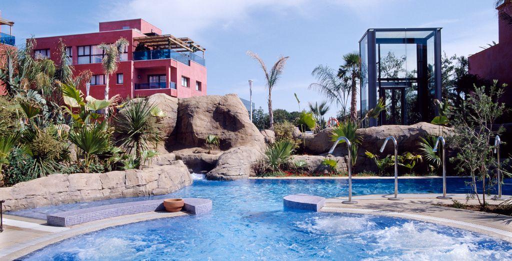 Disfruta de una piscina para los momentos más refrescantes