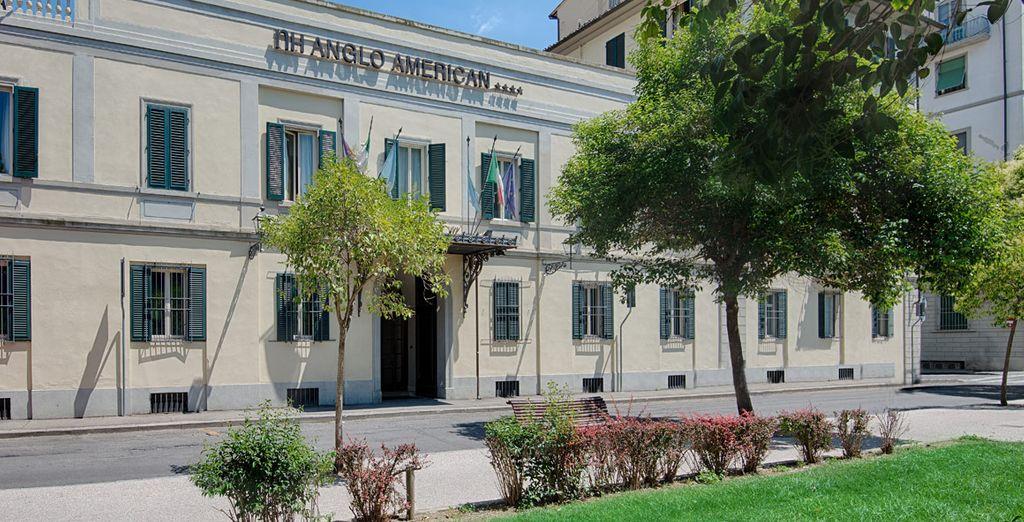 Se encuentra en el centro de Florencia, en la tranquila zona de
