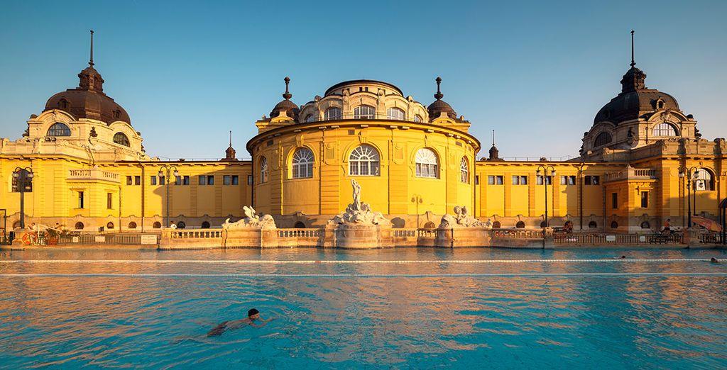 Visita los baños termales de Budapest, una experiencia inolvidable