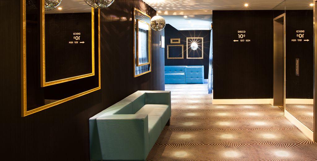 Te alojarás en el exclusivo Lutecia Smart Design Hotel 4*