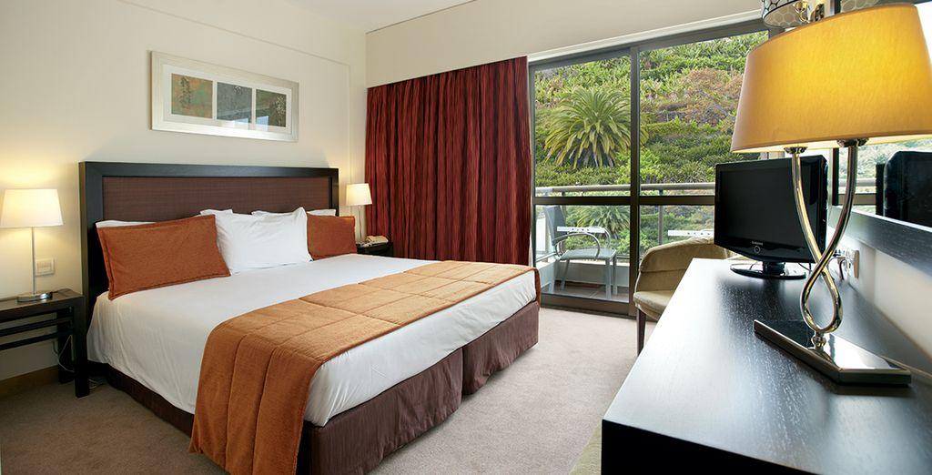 Elige una habitación Duplo vista montaña..