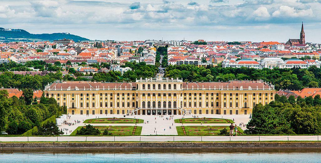 El majestuoso palacio de Schönbrunn