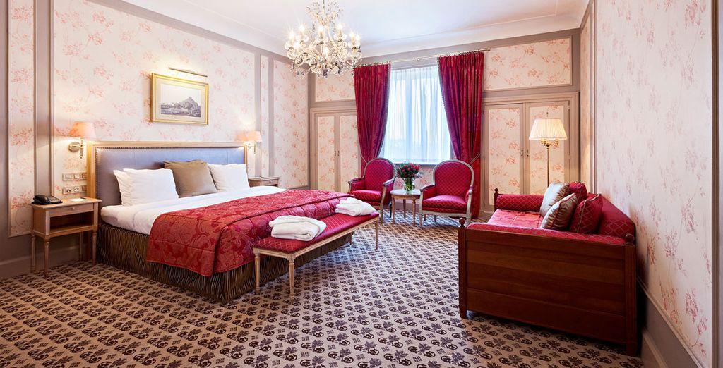 Descansarás en una elegante habitación Privilege