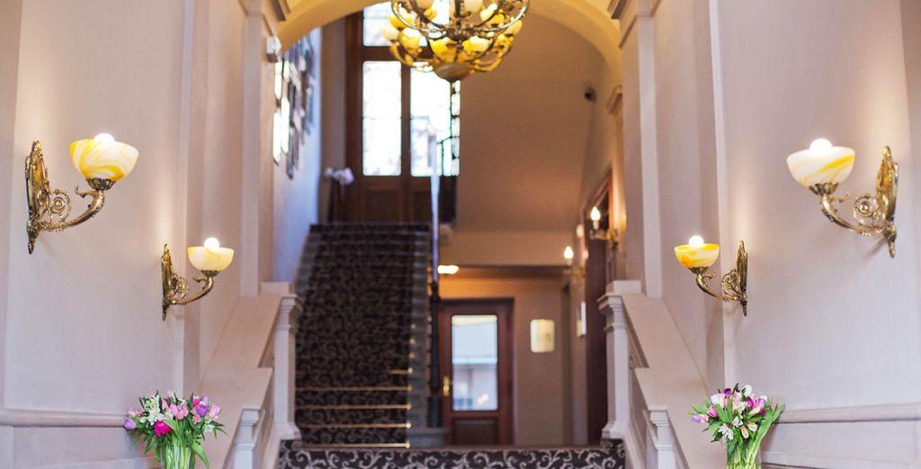 Espacios confortables, luminosos y elegantes...