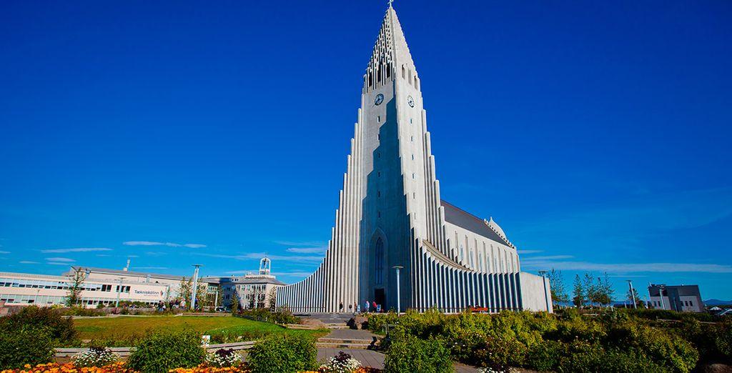Catedral Hallgrimskirkja en Reykjavik