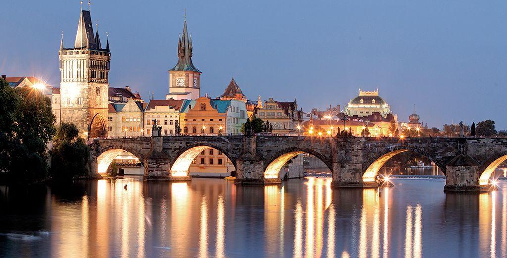 Comenzarás tus vacaciones en la Ciudad Dorada, Praga