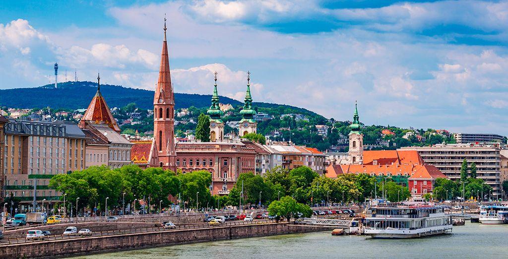 Continuarás tu viaje en Budapest