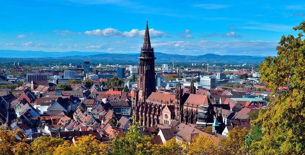 La bonita localidad de Friburgo