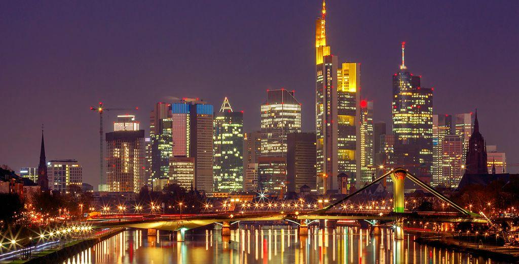 Finalizarás tu circuito en Frankfurt
