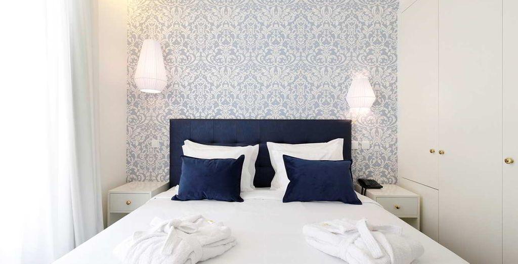 Descubre tu preciosa habitación