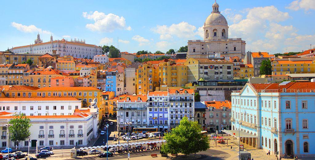 El hotel Lis Baixa 4* te espera en Lisboa