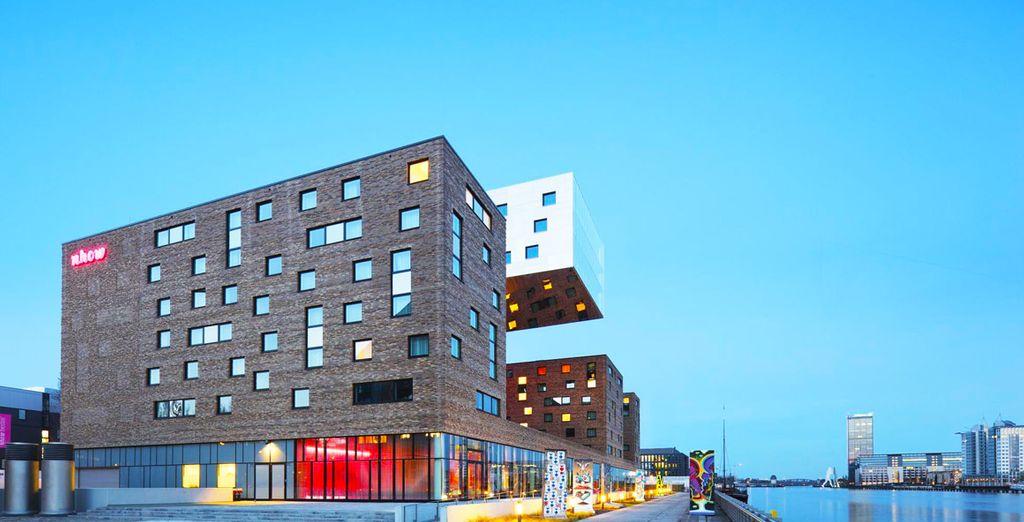 El hotel combina innovación, moda y arte
