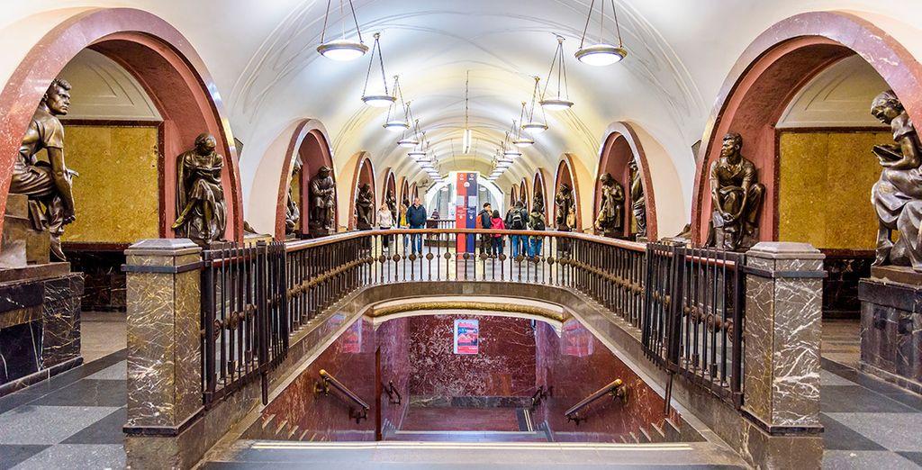 El metro de Moscú, una parada imprescindible