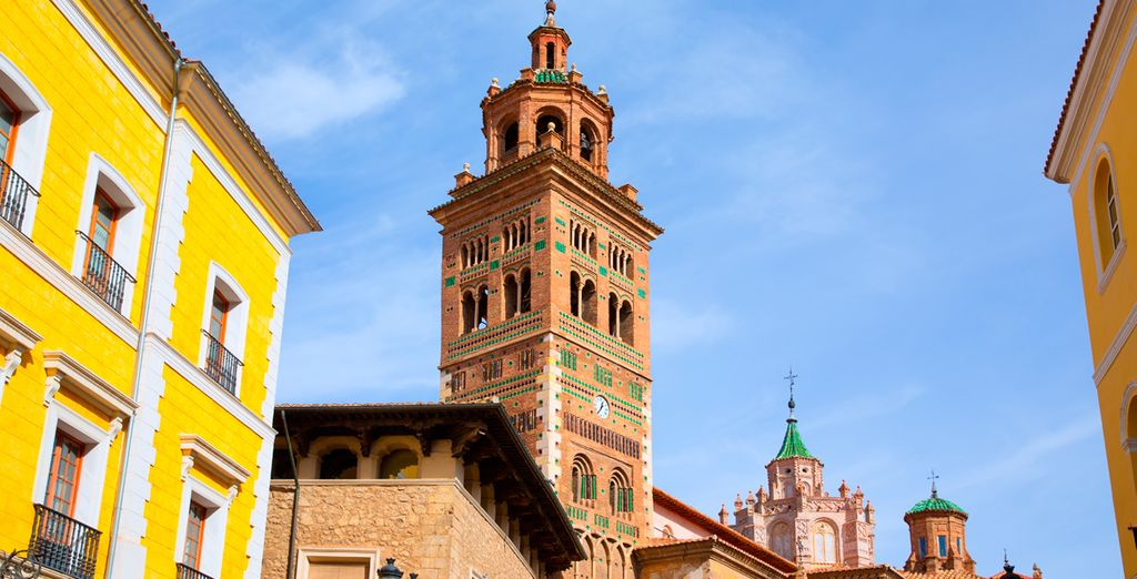 A poco más de una hora de trayecto en coche, llegarás a Teruel