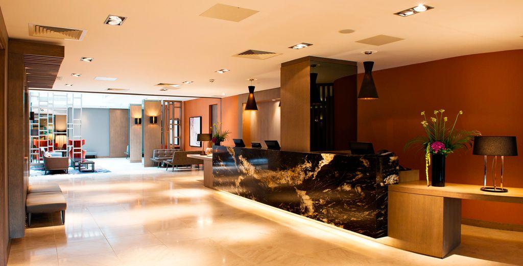 Un hotel recientemente reformado