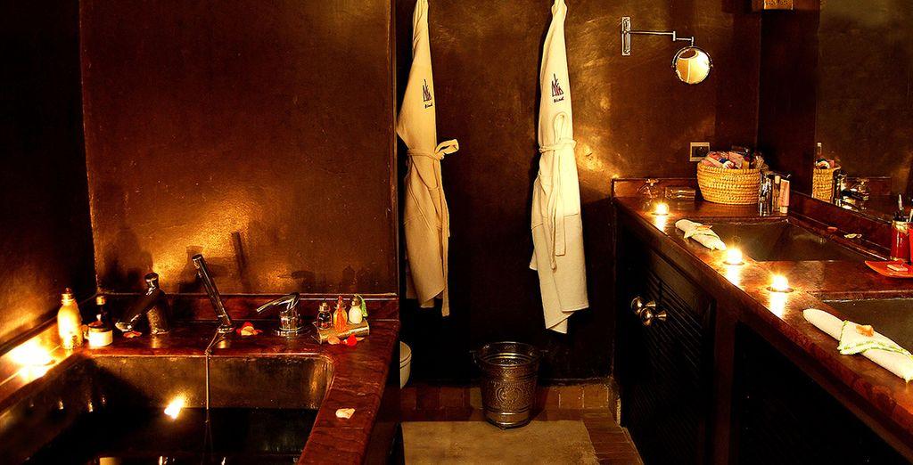 Elegantes baños...
