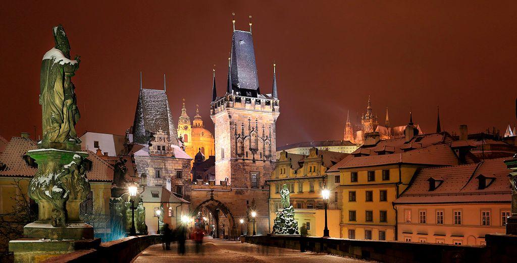 Si viajas en esta época, contemplarás un bonito paisaje invernal