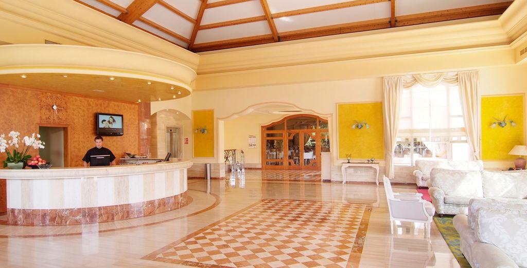 Un lujoso hotel de 4*