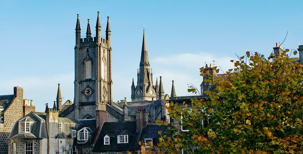Te presentamos la ciudad costera de Aberdeen