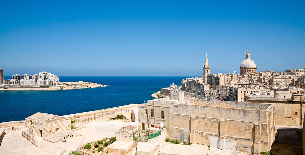 Malta se encuentra a medio camino entre Túnez y Sicilia