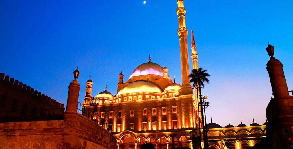 Déjate llevar por la belleza de la ciudad de El Cairo