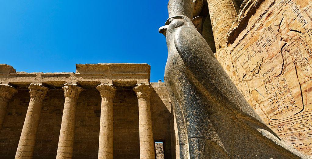 Templo del dios Horus en Edfu