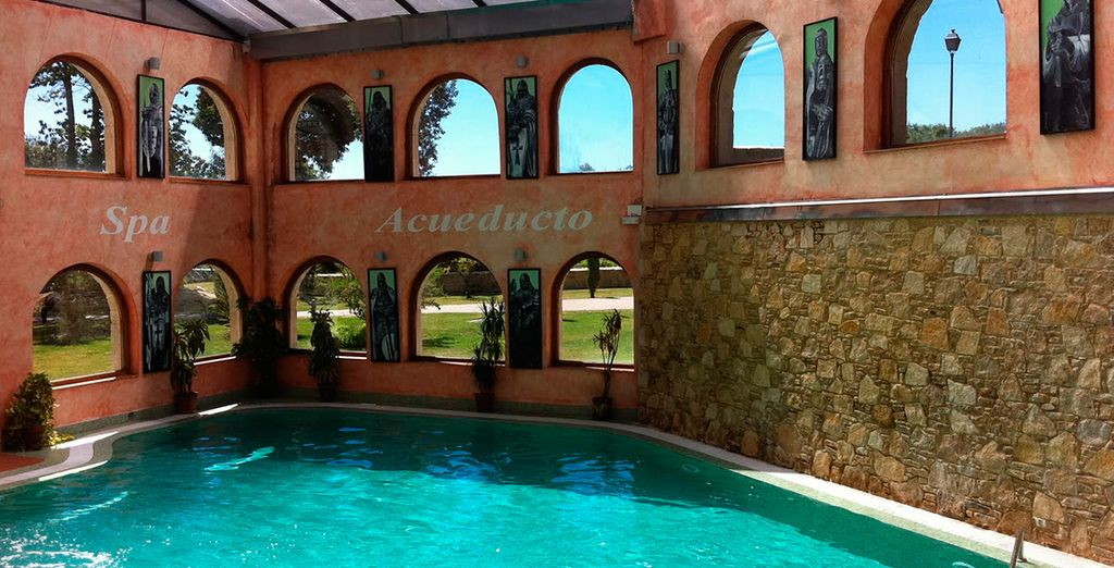 El Balneario Spa Acueducto te invita a relajarte