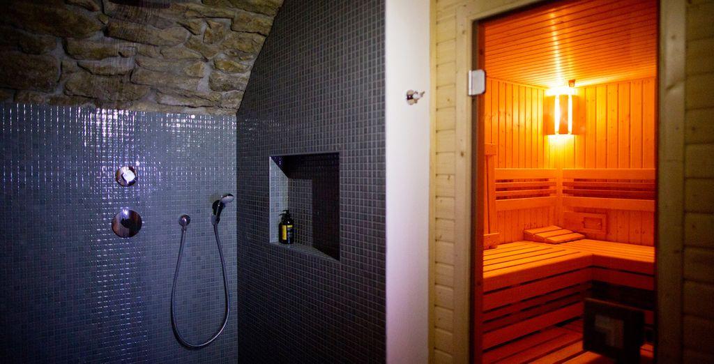 Disfrutarás de acceso a la sala fitness y sauna