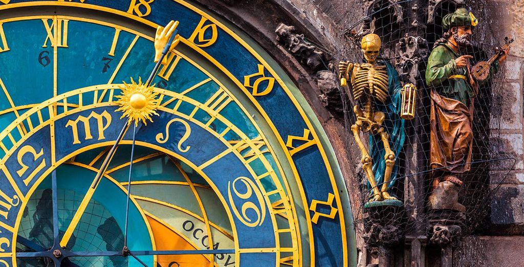 Fotografía el Reloj Astronómico
