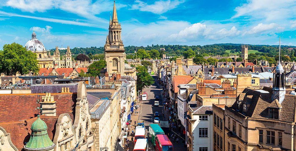Bienvenido a la hermosa Oxford