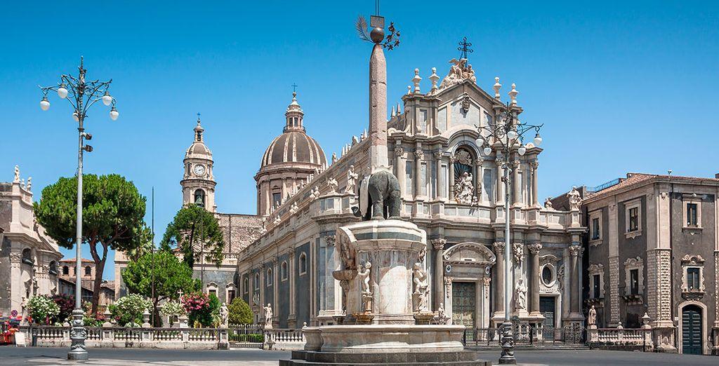 Realiza una visita a Catania